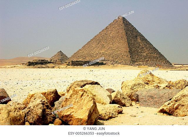 Pyramid in Cairo Egypt