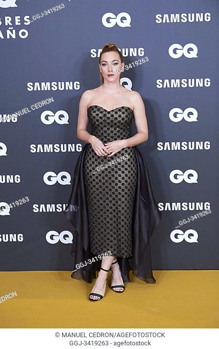 Natalia Rodriguez attends GQ Men of the Year Awards 2019 at Palace Hotel on November 21, 2019 in Madrid, Spain