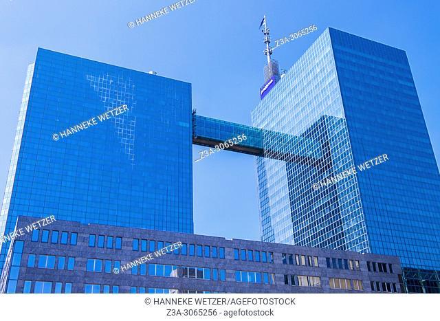 Proximus building, Brussels, Belgium, Europe
