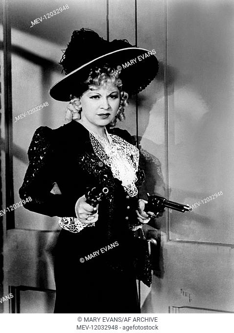 Mae West Characters: Flower Belle Lee Film: My Little Chickadee (1943) Director: Edward F. Cline 09 February 1940