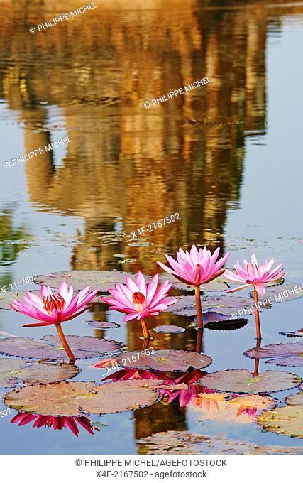 Thailand, Sukhothai, Sukhothai Historical Park, Wat Mahatat