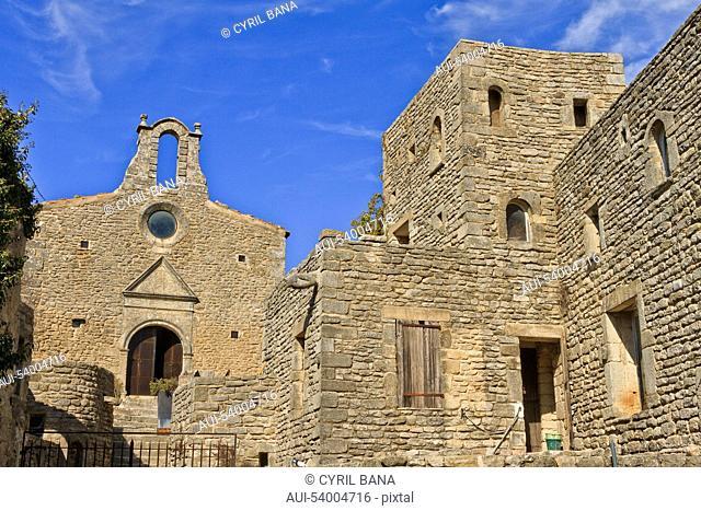 France, Provence, Saignon, old medieval village