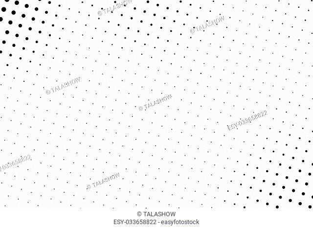Basketball halftone isolated on white background. Basketball dots