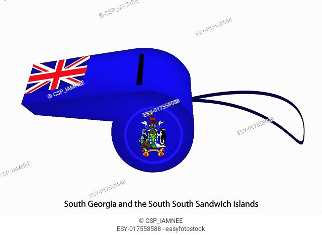 A Whistle of South Georgia and The South Sandwich Islands
