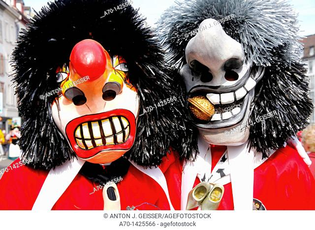 Basel carneval , waggis , switzerland