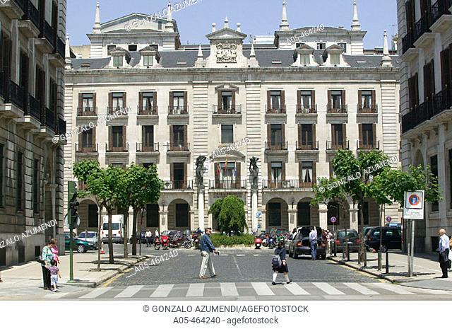 Plaza Porticada. Santander. Cantabria. Spain