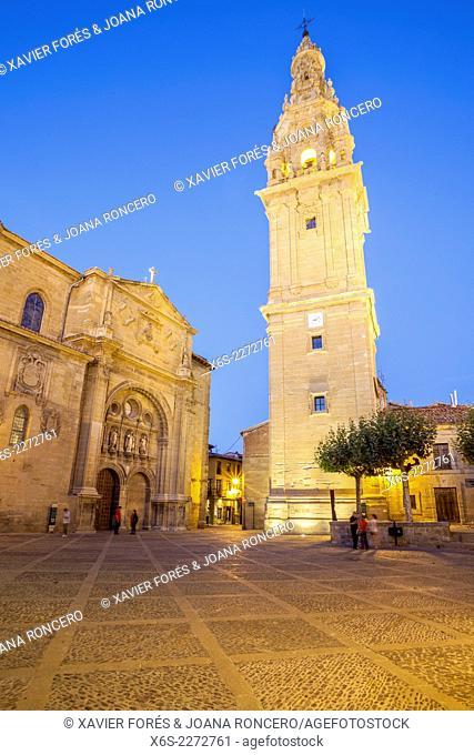 Cathedral of Santo Domingo de la Calzada in the Way of St. James, La Rioja, Spain