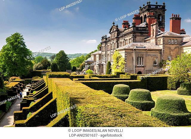 Topiary at Biddulph Grange Gardens in Staffordshire