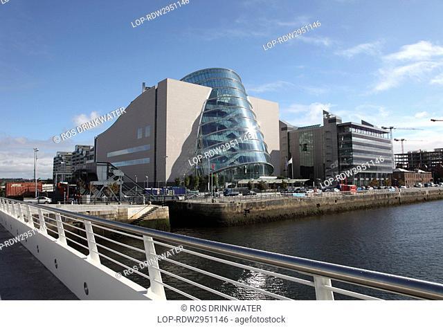 Republic of Ireland, Dublin City, Dublin. The Convention Centre Dublin The CCD, designed by Irish American architect Kevin Roche