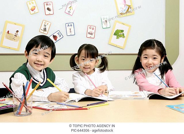 Korean Kids in the Kindergarten