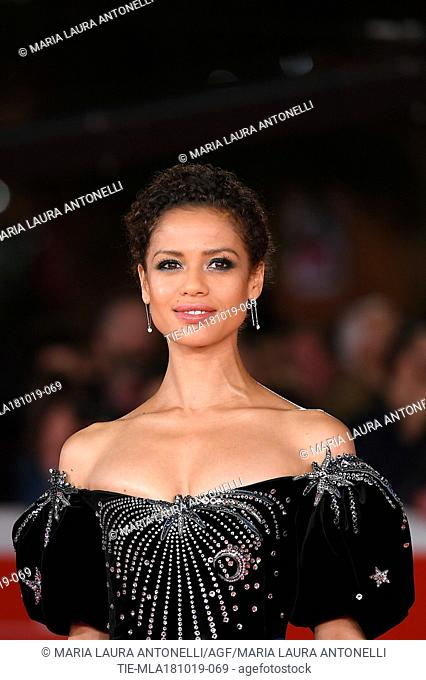 Gugu Mbatha - Raw during the red carpet of film Motherless Brooklyn at the 14th Rome Film Festival, Rome, ITALY-17-10-2019