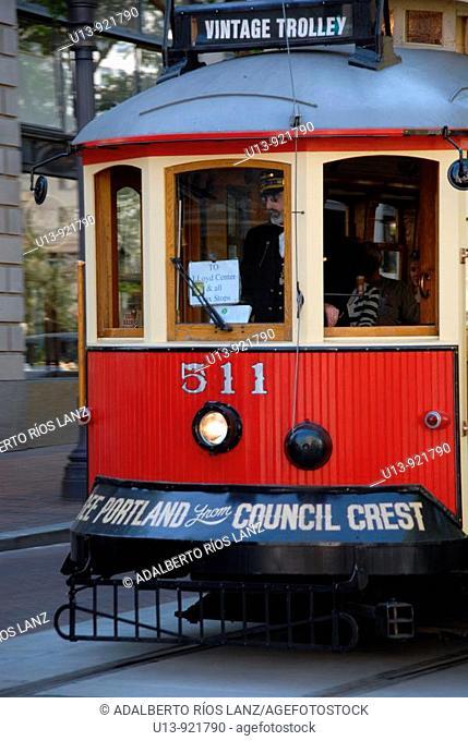 Streetcar, New Orleans, Lousiana, USA