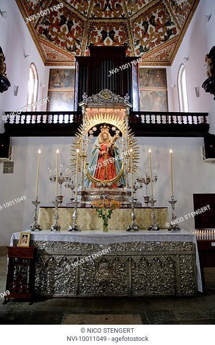 Church Nuestra Senora de la Concepcion, the oldest church of Tenerife, La Laguna, Tenerife, Canary Islands, Spain, Europe