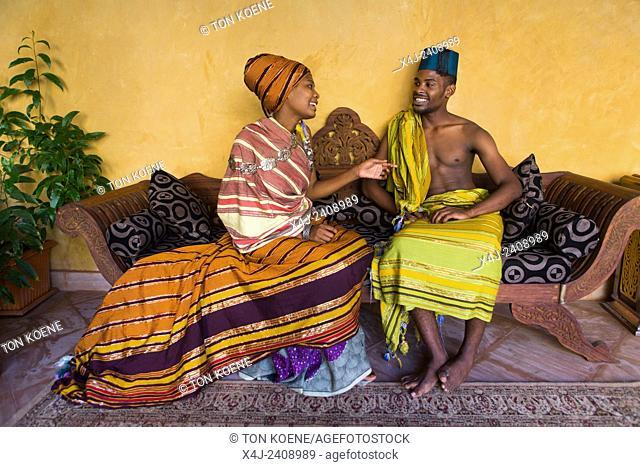 Miriam Hamid and Hanu Mohammed, young couple in Zanzibar