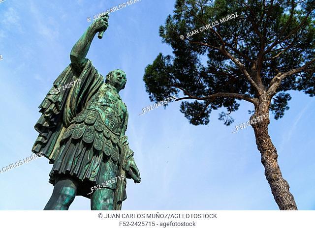 Trajan, Trajan's Forum, Rome, Italy, Europe