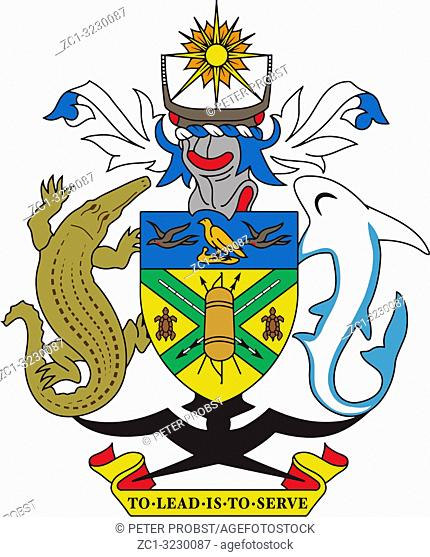 Coat of arms of the Solomon Islands