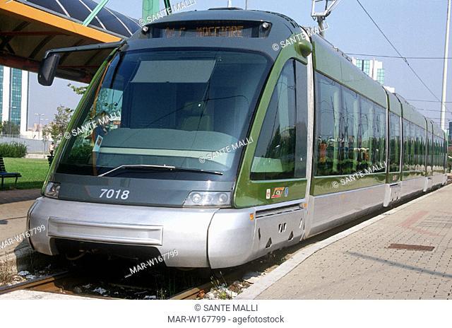 euro tram, milan
