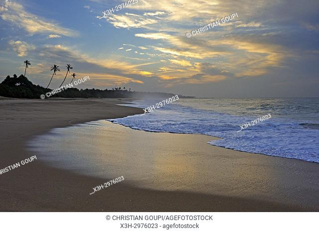Tangalle beach, Sri Lanka, Indian subcontinent, South Asia