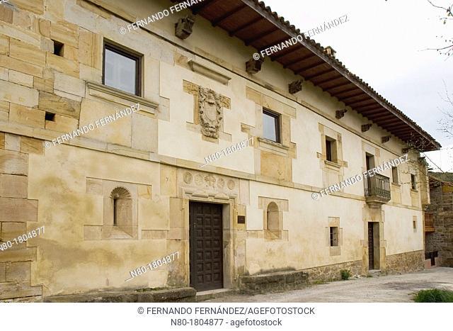 Mayorazu Palace XVII Cultural Inguanzo Cabrales Picos de Europa National Park Asturias Spain