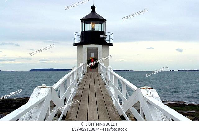 Marshall Point Lighthouse, Port Clyde Maine USA