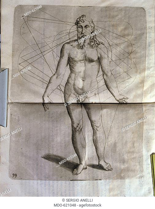 Coelestis physiognomoniae libri sex, by Della Porta Giovan Battista, 1603, 17th Century, Unknow. Italy, Lombardy, Milan, Braidense National Library