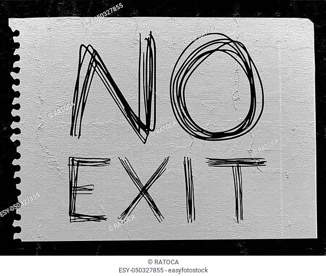 no exit message
