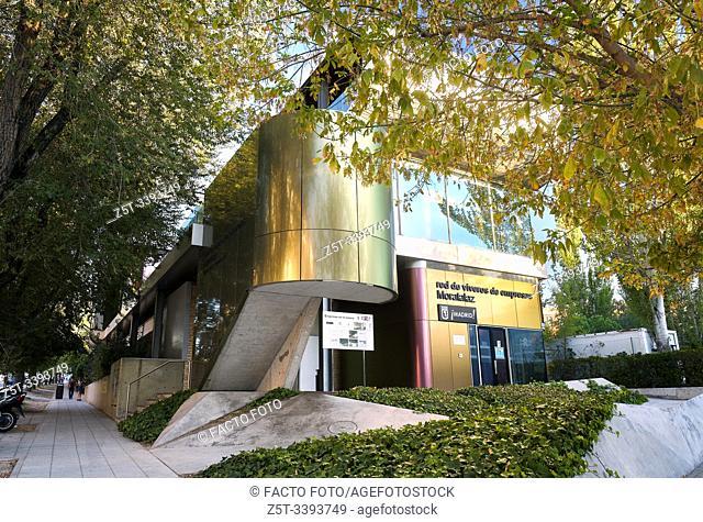 Red de viveros de empresas de Moratalaz y Escuela Superior de Diseño. Madrid. Spain