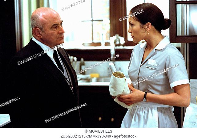 Dec 13, 2002; Hollywood, CA, USA; BOB HOSKINS as Lionel and JENNIFER LOPEZ as Marisa Ventura in the romantic comedy 'Maid in Manhattan' directed by Wayne Wang
