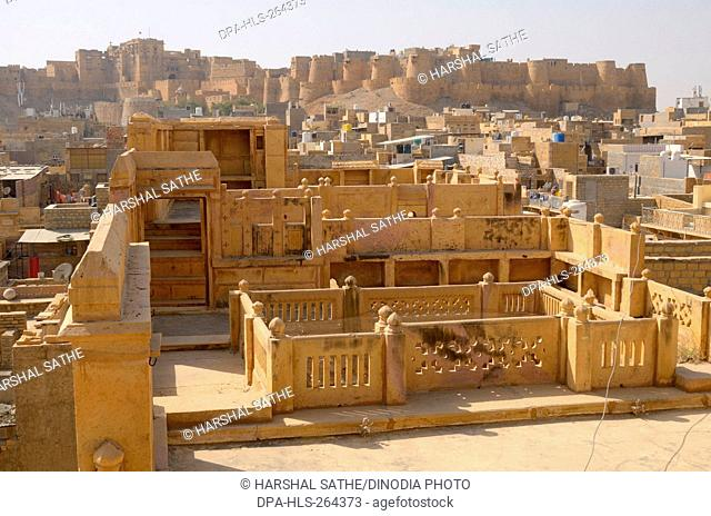 jaisalmer fort, Jaisalmer, Rajasthan, India, Asia