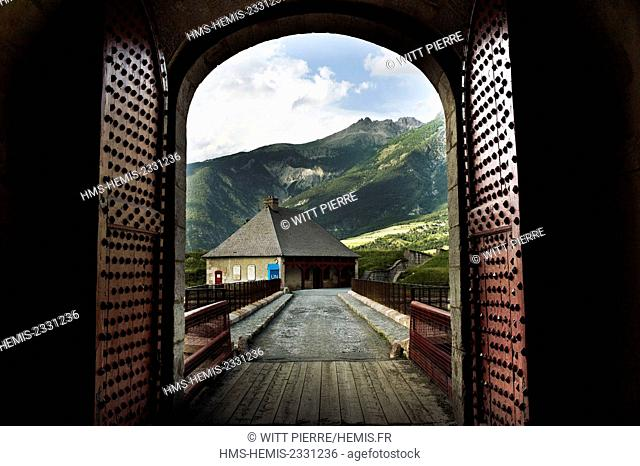 France, Hautes Alpes, Mont Dauphin, Vauban city, listed as World Heritage by UNESCO
