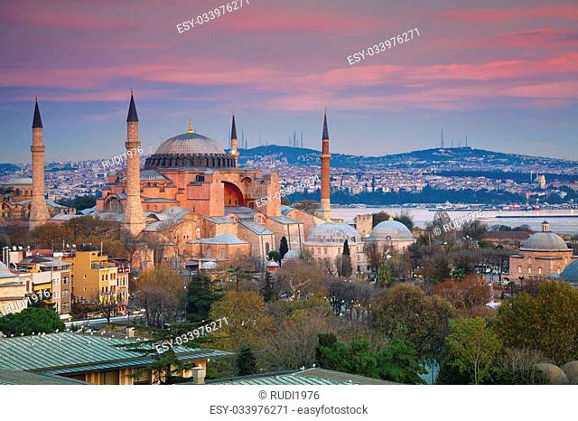 Image of Hagia Sophia in Istanbul, Turkey