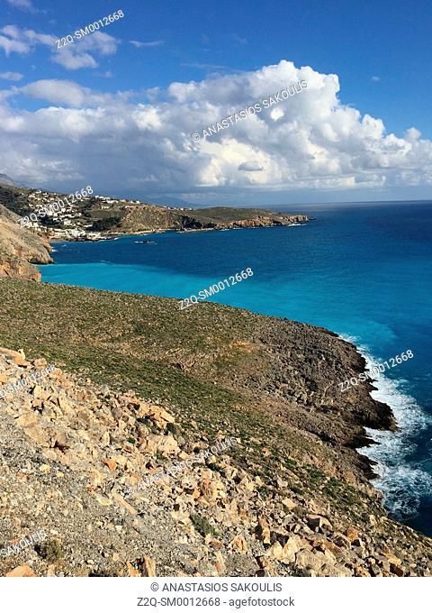 Chora Sfakion on Libyan Sea, S. Crete, Greece