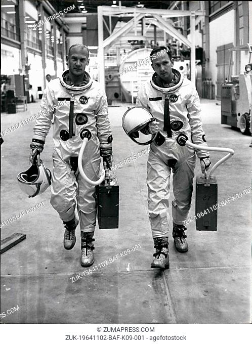 Nov. 02, 1964 - 2-11-64 Life and death of an astronaut ?¢'Ǩ'Äú American astronaut Ted Freeman spent two years reaching for the moon but he died this weekend in...