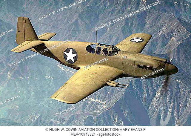 North American A-36 Apache (Mustang Mk I in RAF)