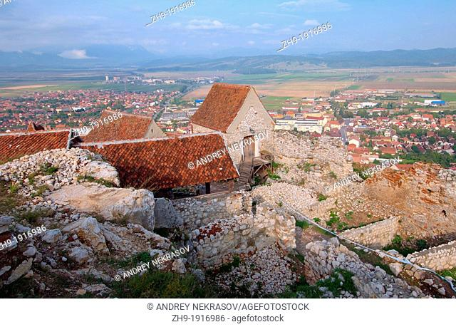 medieval fortress Brasov, Romania, Europe