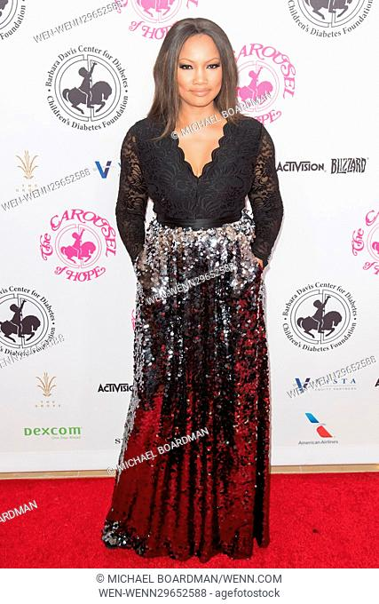 Garcelle Beauvais attending the 2016 Carousel of Hope Ball, held at the Beverly Hilton Hotel, in Beverly Hills, California