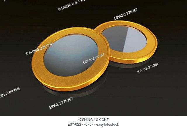 gold silver max coins black
