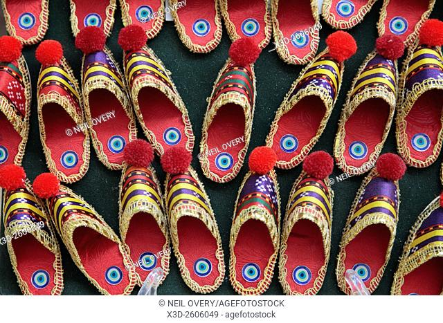 Colourful Shoe Sourvenirs, Istanbul, Turkey