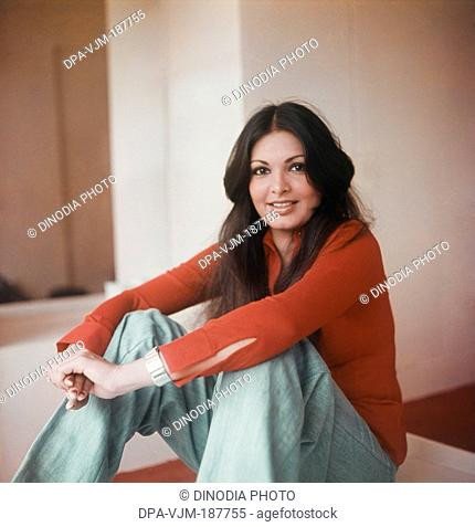 1978, Portrait of Indian film actress Praveen Babi