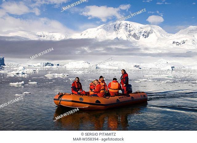 Antarctica, Antarctic Peninsula, Gerlache strait, Neko Harbor, MR