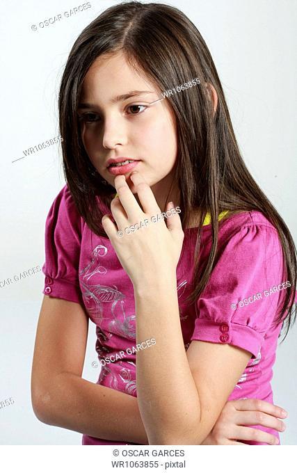 Girl Pensive