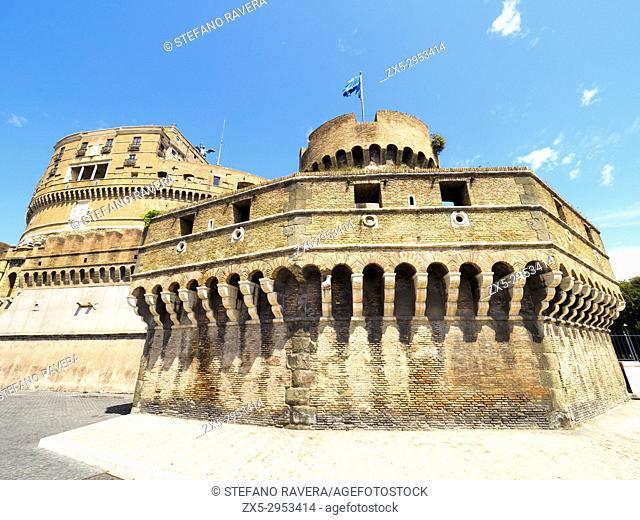 Castel Sant'Angelo (Mausoleum of Hadrian) - Rome, Italy