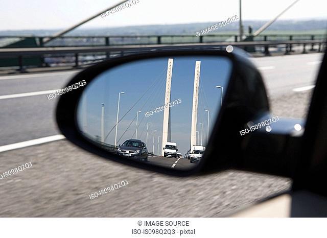 Cars on severn bridge