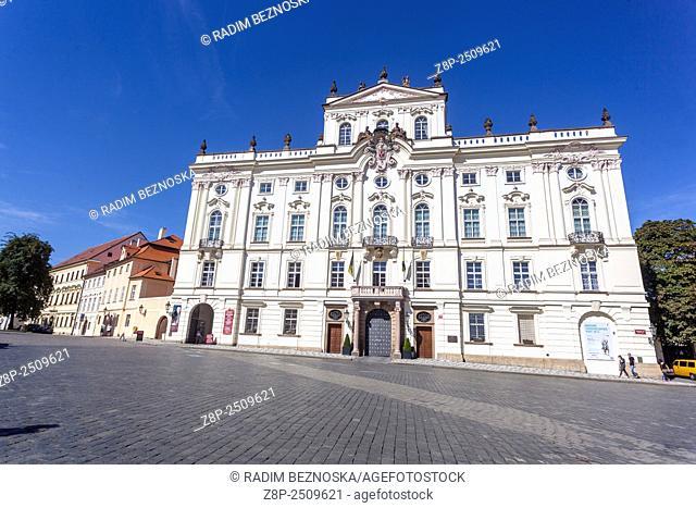 Archbishop Palace, Prague Castle, Hradcany, Prague, Czech Republic, Europe