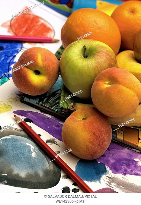 photography studio,fruits,variety of fruits,location girona,catalonia,spain,europe,