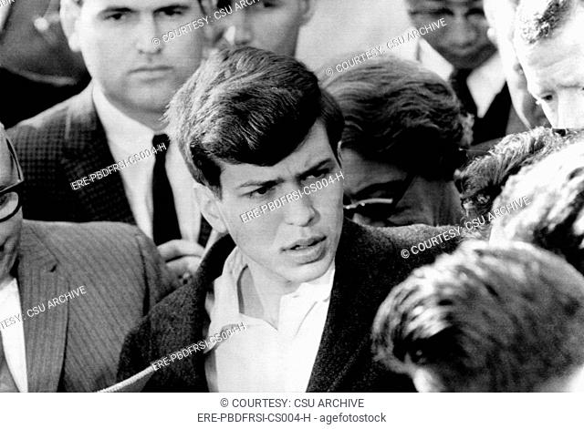 American singer and conductor Frank Sinatra Jr., after his father Frank Sinatra paid a ransom of 240, 000 dollars to kidnappers