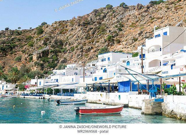 Greece, Crete, Lutro, Guest House in Lutro