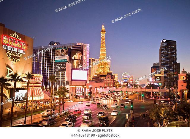 USA, United States, America, Nevada, Las Vegas, City, Strip, Avenue, Paris Hotel, advertisement, architecture, casinos, center, colourful, Eiffel, famous