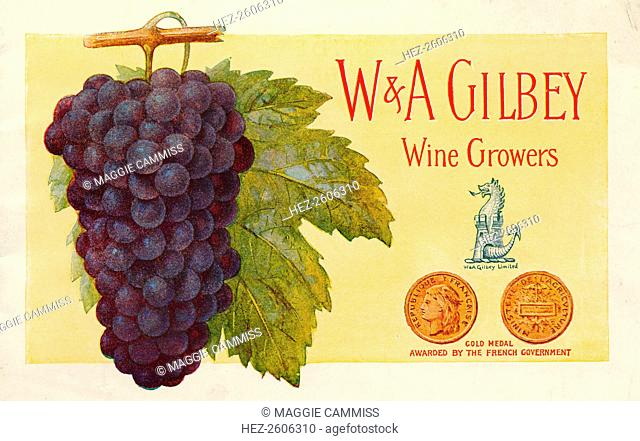 W & A Gilbey wine growers, Chateau Loudenne, France, c.1890