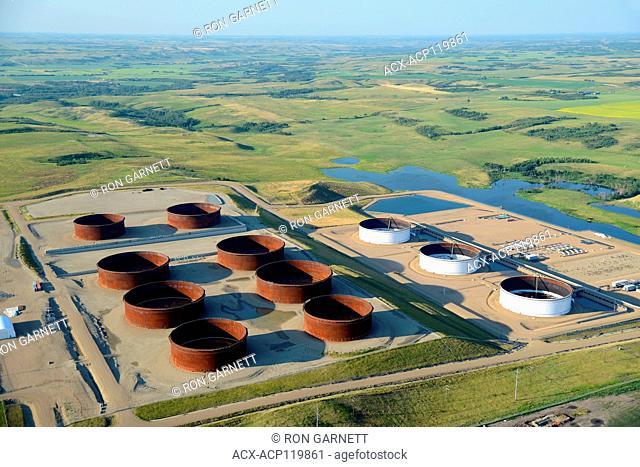 Enbridge Pipeline terminal Hardisty, Alberta